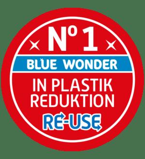 nr 1 plastik reduktion blue wonder