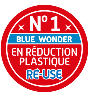 nr 1 reduction plastique blue wonder