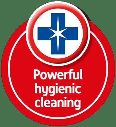 powerful hygienic cleaning blue wonder 2