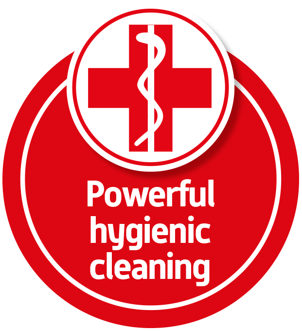 powerful hygienic cleaning blue wonder