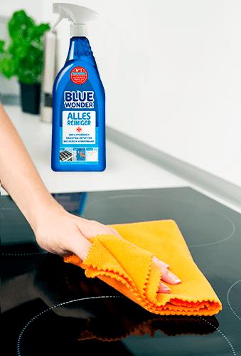schoonmaakwijzer keuken kookplaat reinigen